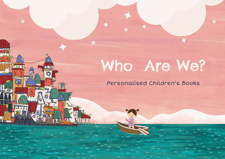 characterful personalised children's books who are we