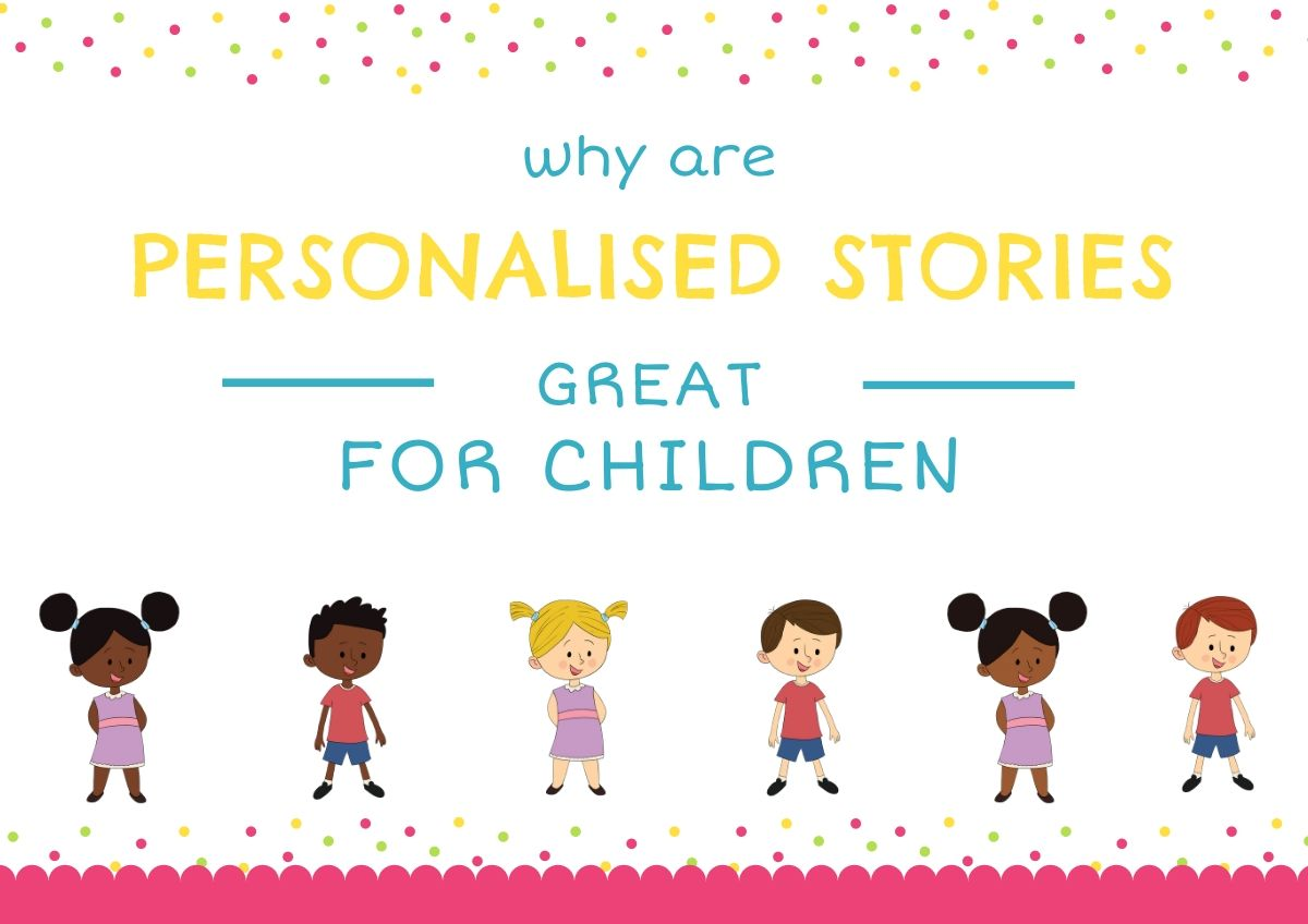 Why are personalised children's books great for children blog image