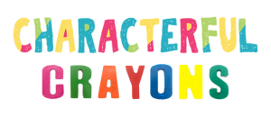 Personalised Children's Books - Characterful Crayon Letters