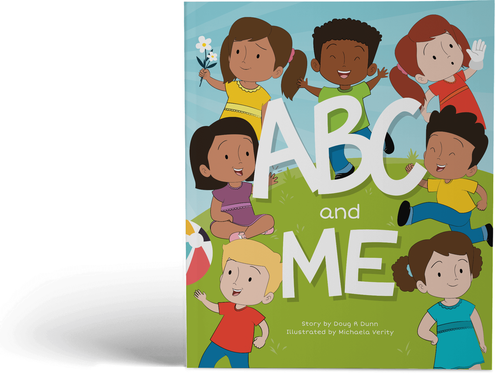 Personalised Children's Books - ABC and ME Book