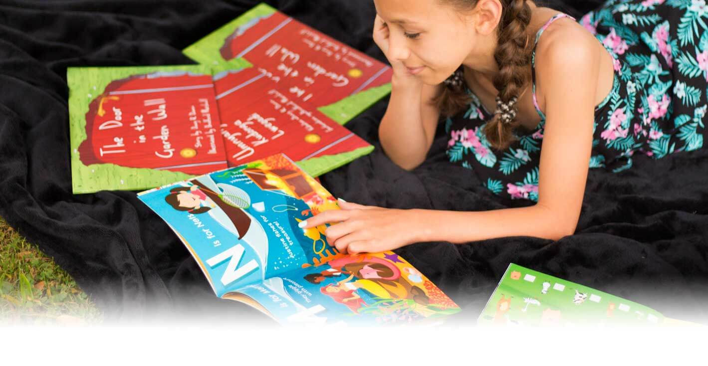 Characterful Personalised Children's Storybooks - Child Reading